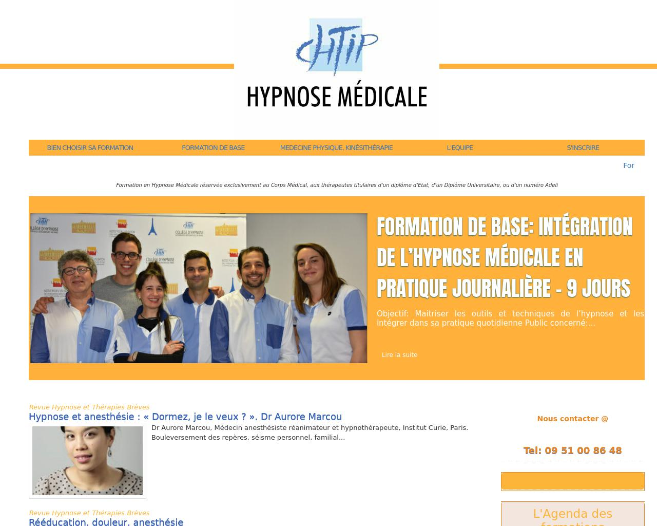 diplome universitaire d'hypnose paris xi