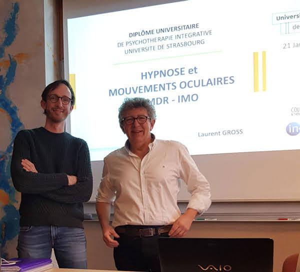 Formation Psychotraumatisme EMDR - IMO à Paris. Intégration des Mouvements Oculaires en thérapie.