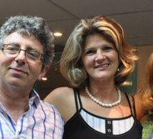 Formation thérapie d'IMPACT à Paris. Sylvie Bellaud-Caro et Laurent Gross accueillent Danie Beaulieu à Paris