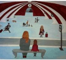 Le hall de  gare. Par Véronique LOVENS, sexologue, sexothérapeute à Paris et à Liège